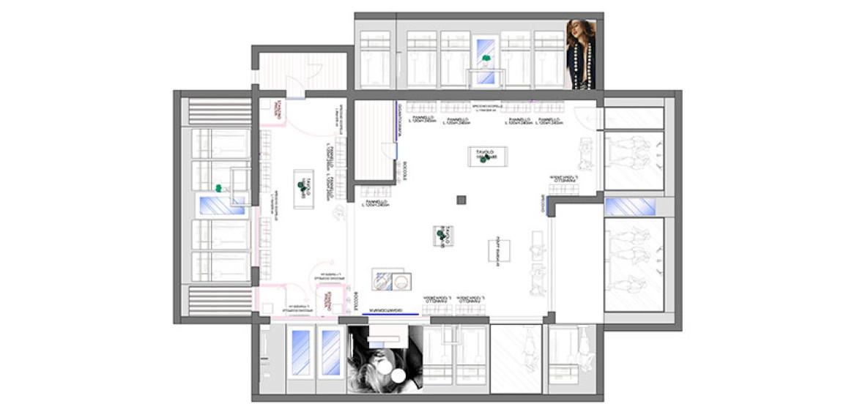 Progettazione e arredo negozi visualshop italia padova for Progettazione di negozi